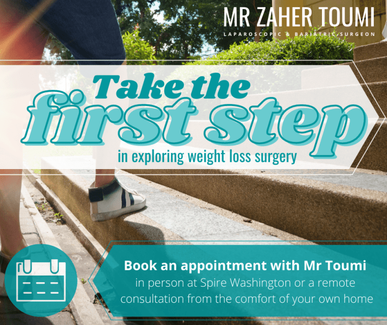 Take the first step in exploring weight loss surgery